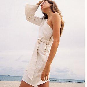 NWT, Free People Eyein This Mini ivory dress, XS